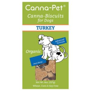 Canna-Biscuits for Dogs: Advanced Formula Turkey - Organic