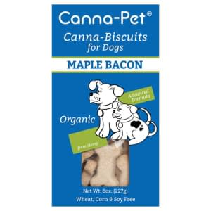 Canna-Biscuits for Dogs: Advanced Formula Maple Bacon - Organic