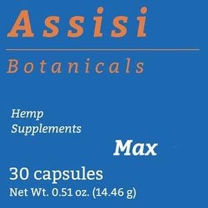 Assisi Capsules - MaxCBD - 30 capsules