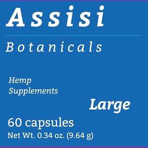 Assisi Capsules Large- 60 capsules